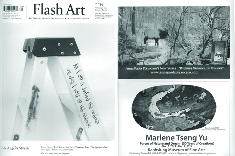 """Flash Art"" International Magazine Winter 2014"