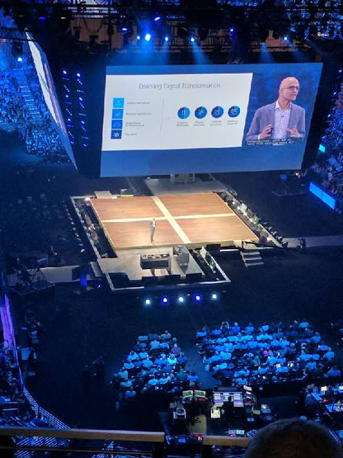 In the first keynote of the conference, Microsoft CEO Satya Nadella spoke about the intelligent cloud opportunity, and then was joined by other corporate VPs at Microsoft to give an overview of news, including updates to its channel partner program and the launch of Microsoft 365.