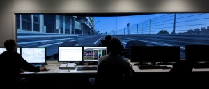 Renault Sport Formula One Team car simulation control room