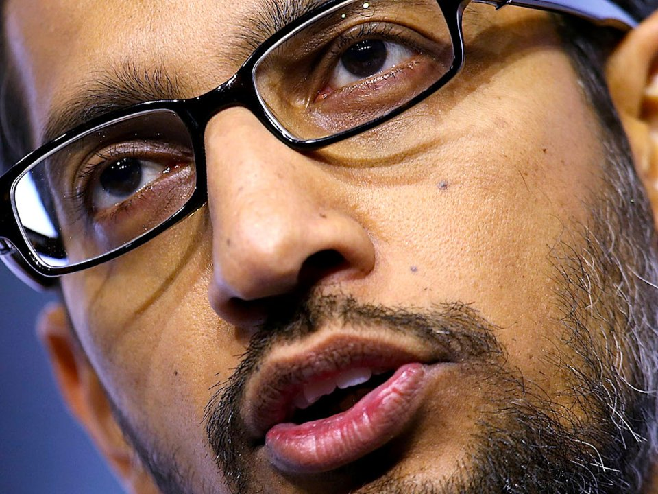 Google CEO Sundar Pichai.  Getty