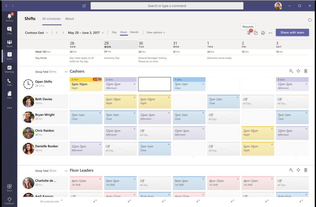 Everything You Need to Know About Shifts in Microsoft Teams