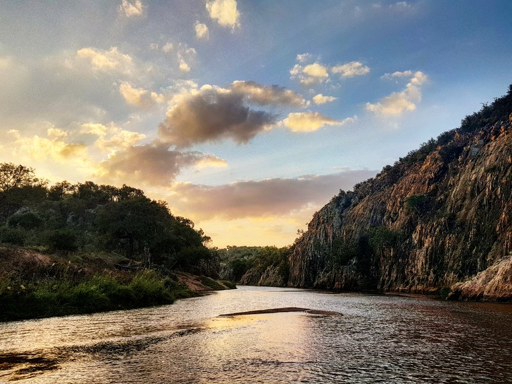 MUTALE GLORY: Mutale River Gorge at sunset.
