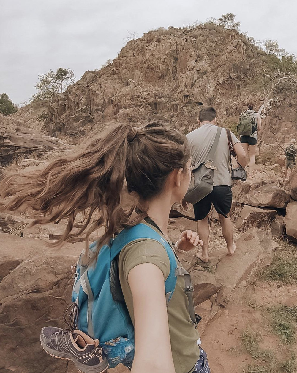A walking safari is truly a remarkable experience, allowing you to absorb the sights, sounds and smells of the bush in a truly unique way. We love this snap from   @sarahs.trek   from her 5-hour walking safari through Lanner Gorge.