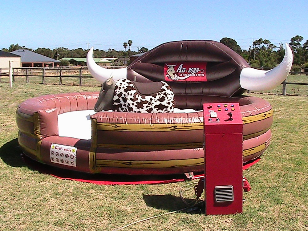 BUCKING BULL $495 (3 hour metro hire) including operator