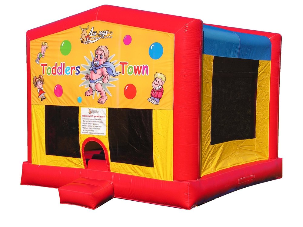 TODDLER TOWN BOUNCY CASTLE