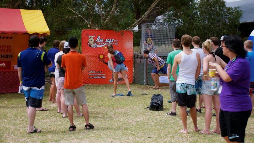 DUNK TANK $445 (3 hour metro hire) self supervised