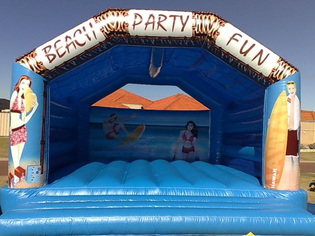 BEACH BOUNCY CASTLE