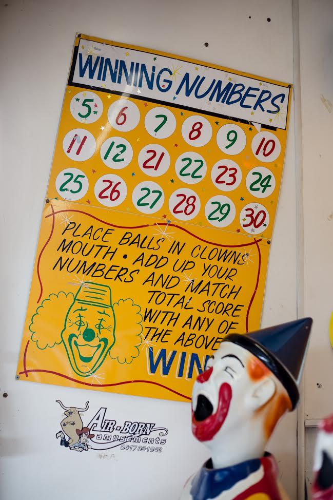 Laughinig Clowns Winning Numbers