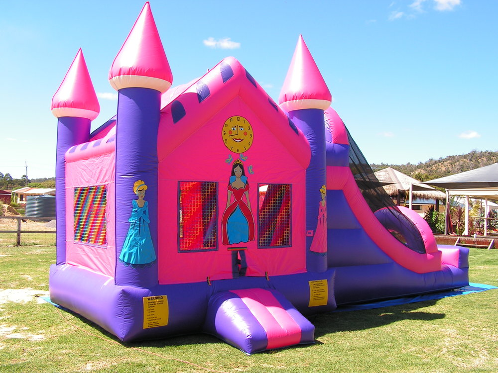 Princess Bouncy Castle $495 (3 hour metro hire) -