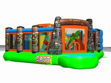Tiki Island Obstacle Course $495 -