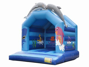 Add Dolphin Bouncy Castle to your hire for only $200 extra -