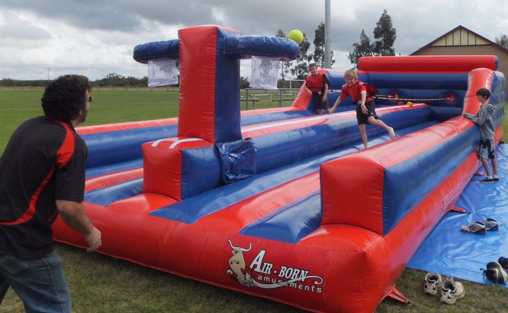 BUNGEE SLAM DUNK $495 (3 hour metro hire) including operator