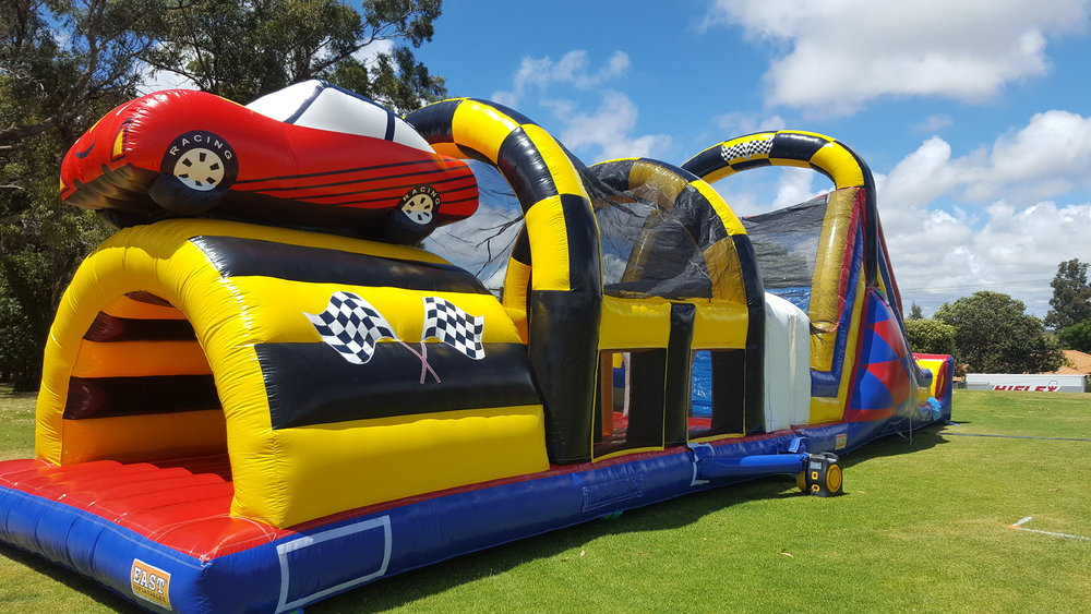 Race Car Obstacle Course -