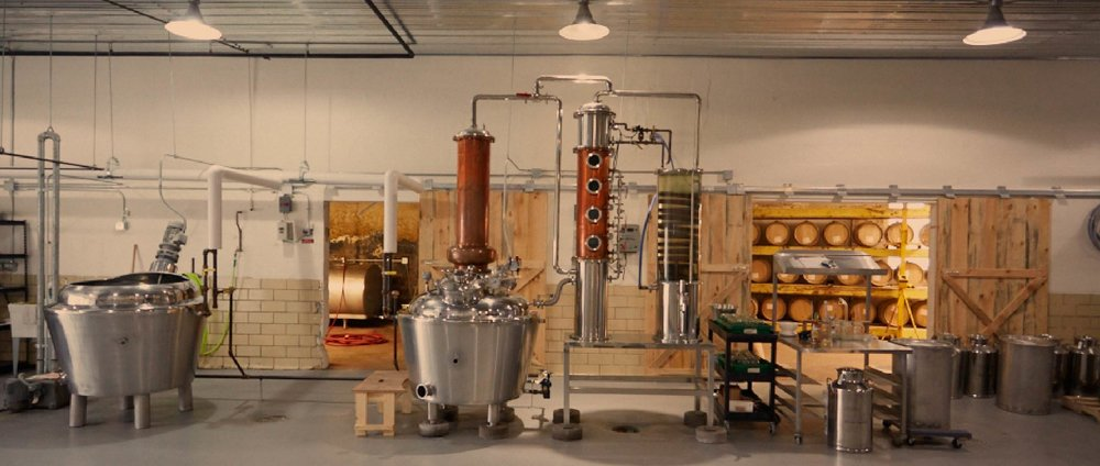 RockFilter Distillery, located in the old creamery, in Spring Grove, Minnesota.