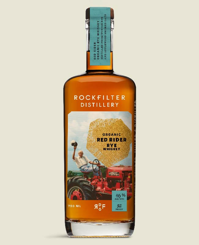 Future product from RockFilter Distillery in Spring Grove, Minnesota