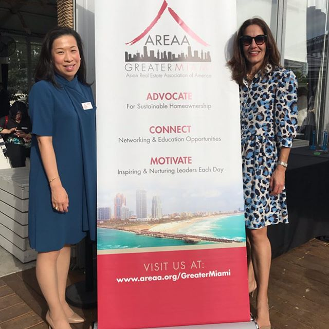 Great event this week where the Asian Real Estate Association #AREAA @areaagmiami got to shine amongst a sea of Miami developers, finance institutions and real estate businesses. The Developer Showcase in partnership with @themiamirealtors Association was a success. Thank you @jcsellsmiami for organizing such a fun afternoon. Lots of interest in the local community to find out what we do - we are an organization with 39 chapters in the US and Canada, an extended family of Real Estate Professionals that serves the #AAPI community and that empowers locals through events, educational initiatives and networking opportunities. . . . . . . . .#areaamiami #areaamiamievents #areaanational @areaanational #miamirealtor #businesswoman #business #miamirealestate #miami #thewhatf @wharfmiami @miamilifestyle @citi