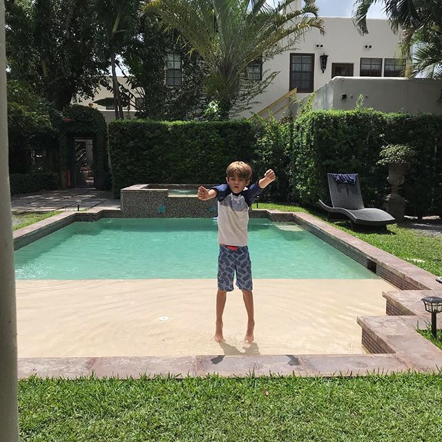 #awesome #sunday . . . . . . . . . #weekendvibes #momofboys #pooltime #coconutgroverealestate #miami #miamilife #springtime #miamiliving #coralgables #miamilifestyle #miamiagent #lovemiami #poolside #fun #weekend #staycation #spring