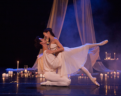The ballet performance of Romeo and Juliet: one of the many performances supported by the Tulsa Performing Arts Center Trust