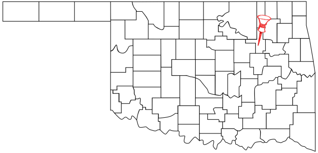 Jenks (Pop. 19,951) is located in Northeastern Oklahoma.