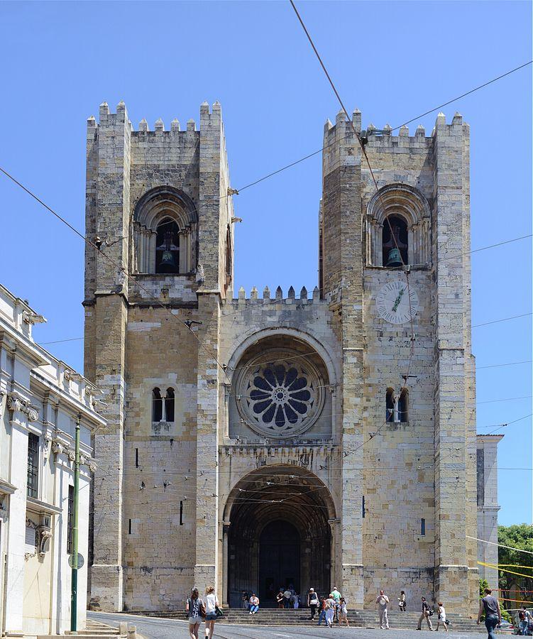 Sé de Lisboa, Photo:  Alves Gaspar , CC