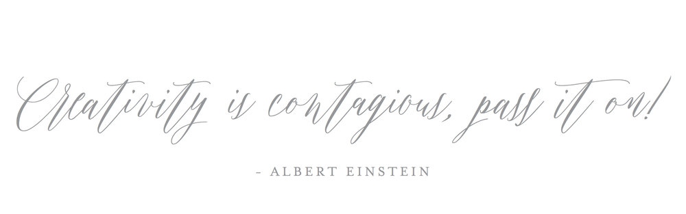 Creativity is contagious, pass it on!