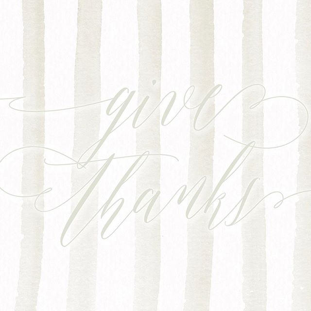 have you checked out the latest blog post? so thankful for you! #brittanyblackburndesign #blog #freebie #wallpaper #design #linkinbio #givethanks #thankful #blogger #thanksgiving #watercolor #calligraphy