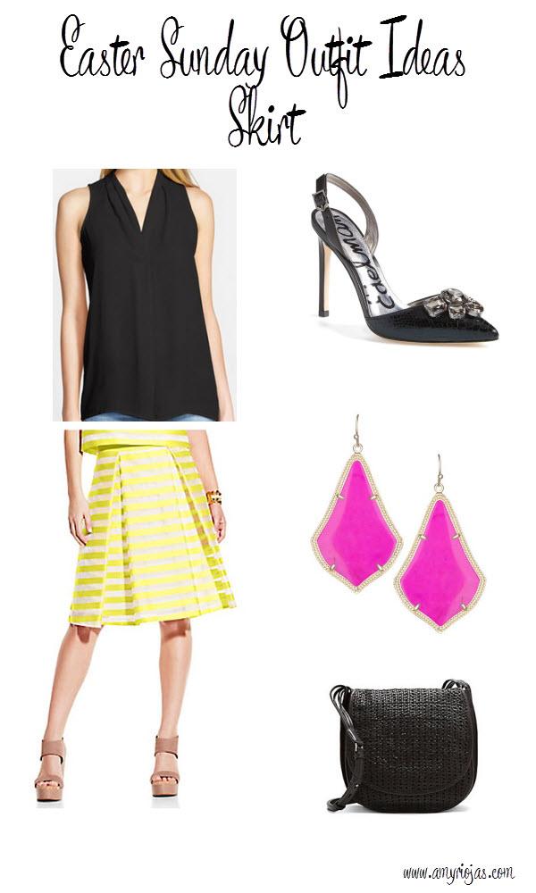 Easter Skirt Look 3