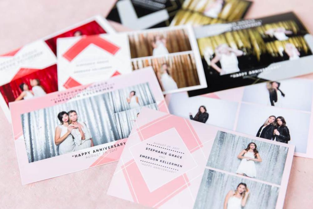 Custom designed brooklyn photo booth prints