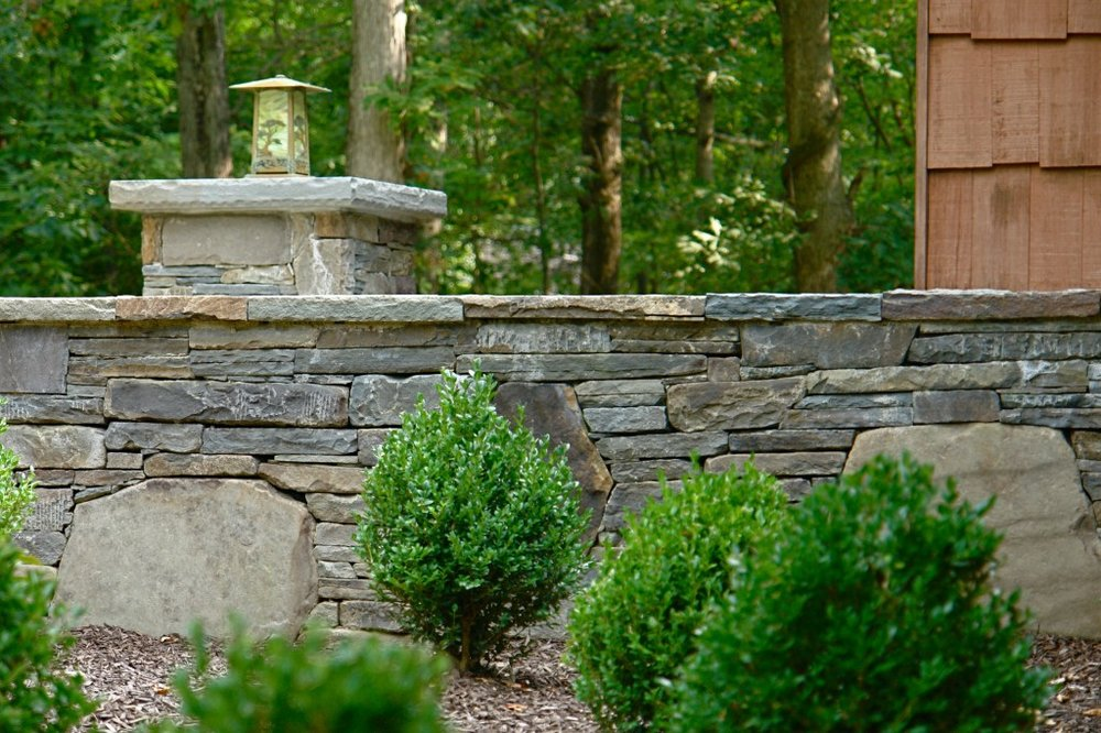 retaining wall pleasant valley, ny and wappingers, ny