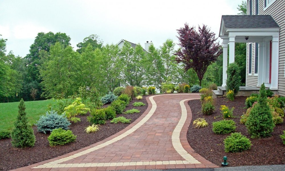 using plantings for privacy wappings, hopewell junction ny