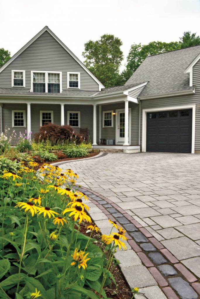 Unilock paver driveway in ny