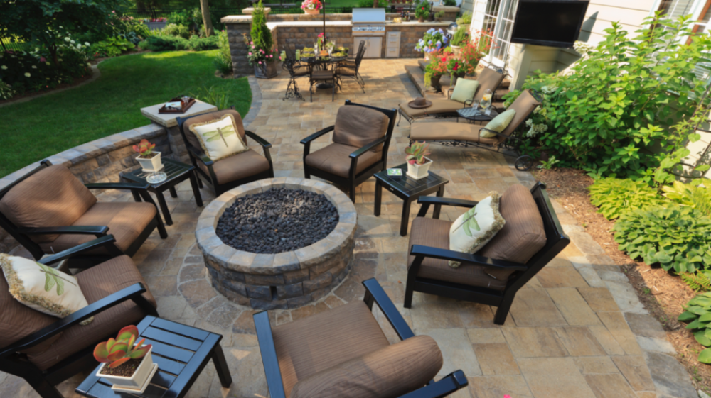 creating an outdoor room on your wappingers falls, ny patio