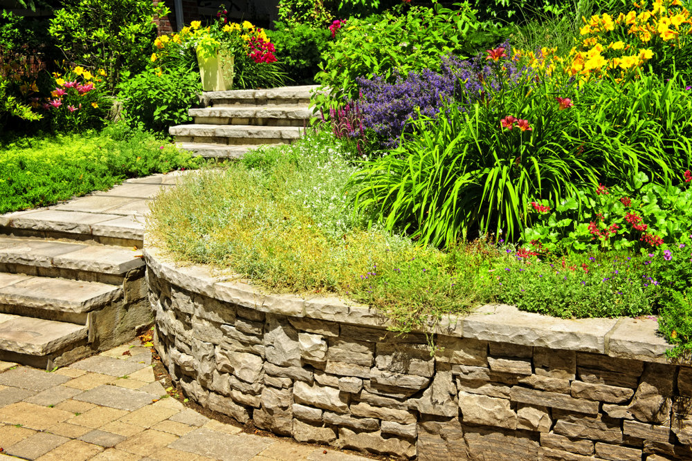 6 Clever Uses For A Basic Backyard Retaining Wall in Poughkeepsie NY