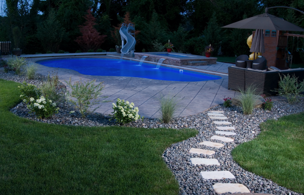 Patio landscape lighting ideas in Westchester County NY