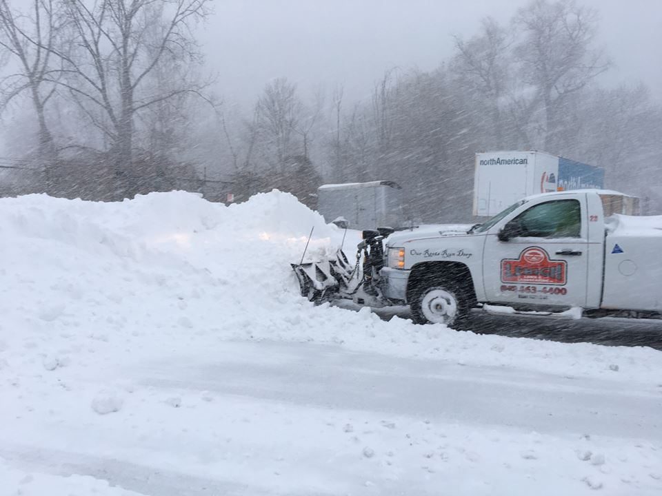 Snow management in Poughquag, NY
