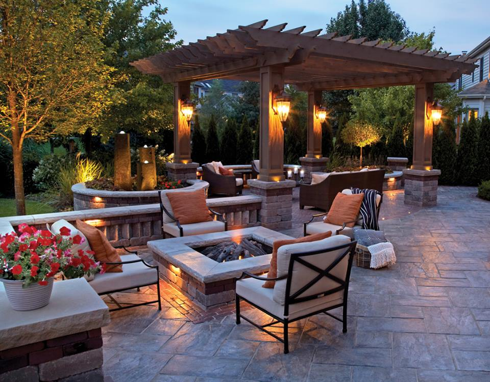 Landscape lighting services in Westchester County, NY