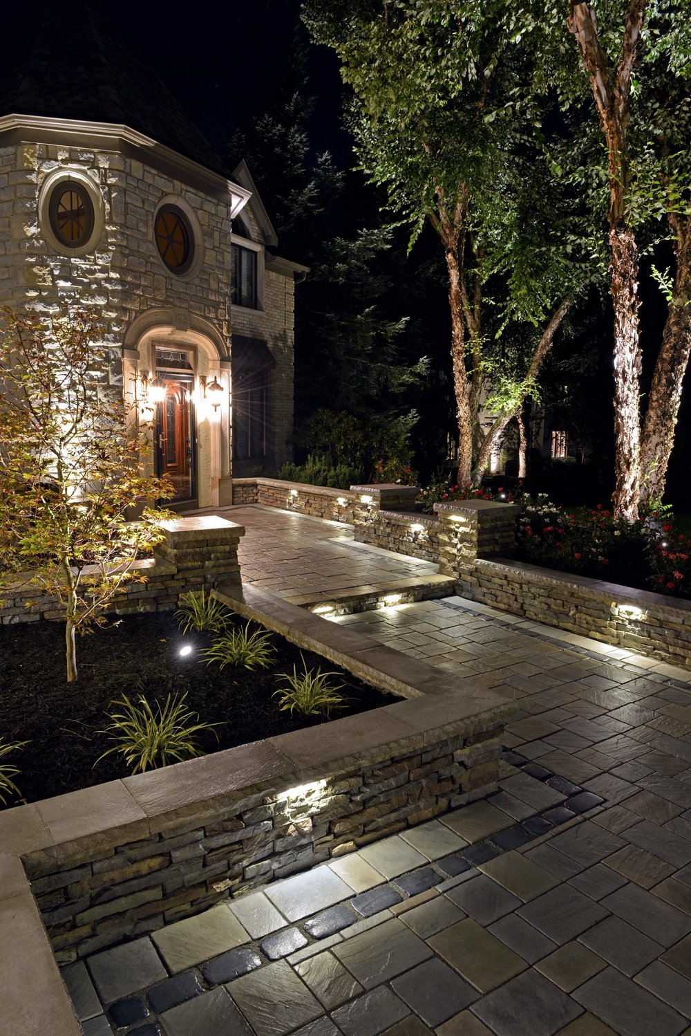 Create a Beautiful Night-Time Outdoor Space with Landscape Lighting in Hopewell Junction, NY