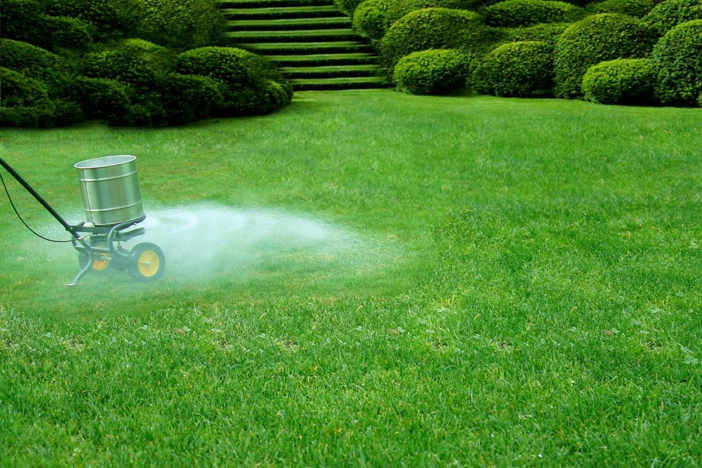 Commercial landscaping - fertilization in Westchester County, NY