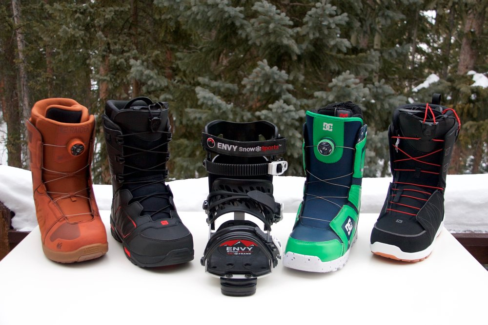 Changeable Snowboard Boots — Envy Snow Sports