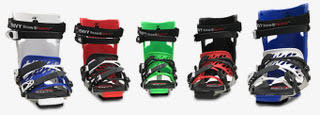 Envy Ski Boot Frame Color Options