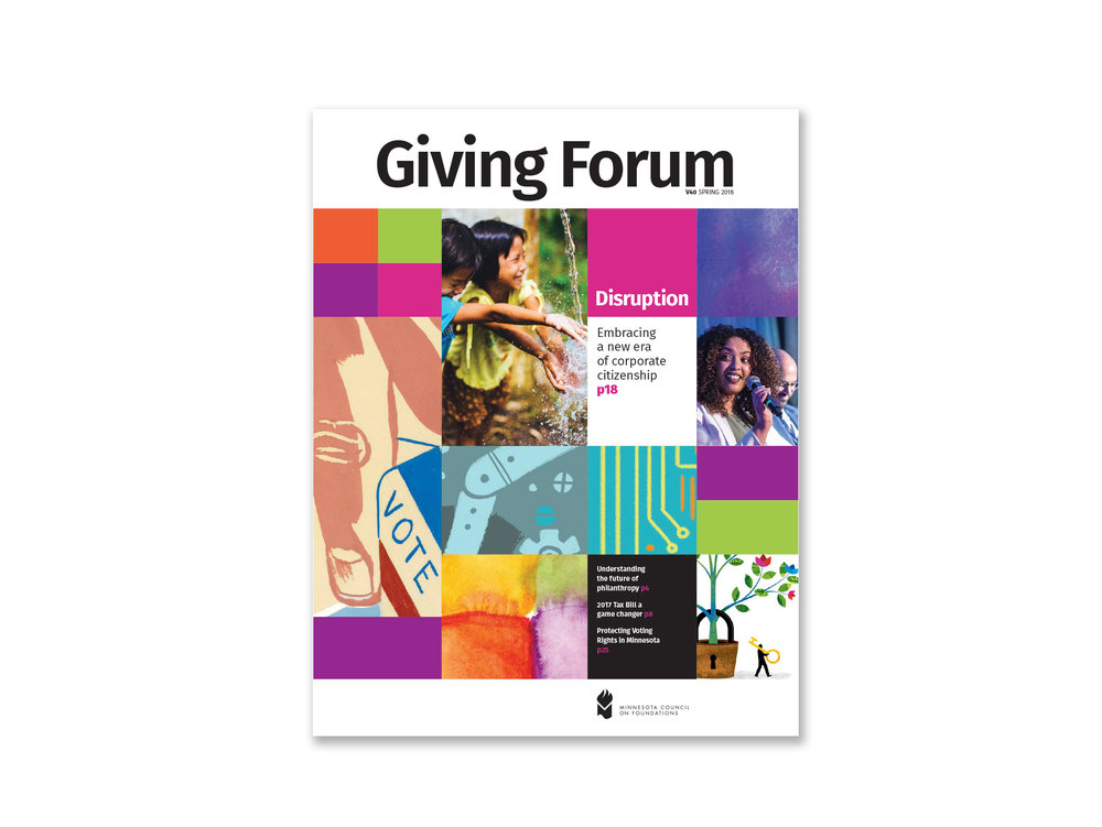 Giving Forum Magazine