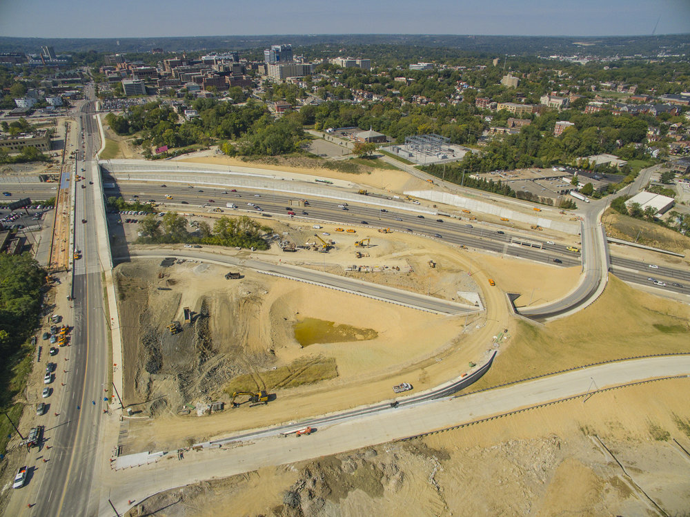 "The $80 million I-71 interchange development is expected to be completed by summer 2017. Of the 87 workers employed on the job site, 19 are minority contractors training with the ""Pathways to Careers in Highway Construction"" program."