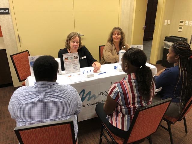 Many Uptown institutions interviewed potential employees during the most recent Career Information Session on August 1. The next session will be held at Hampton Inn on November 7.