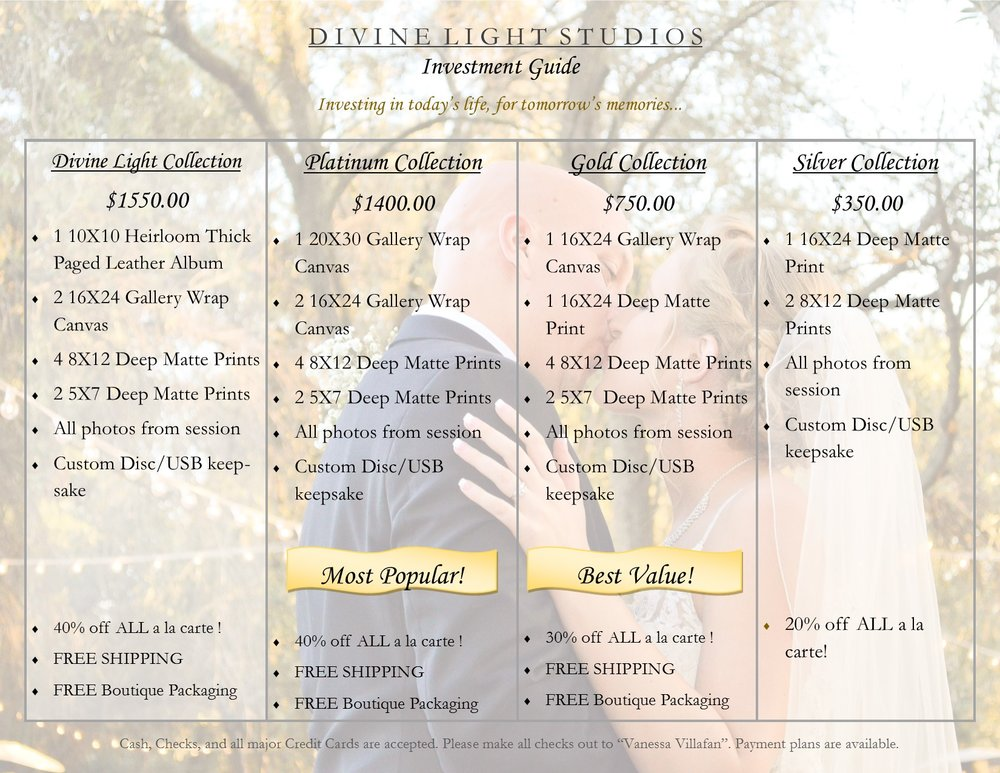 Divine Light Collections-Investment guide