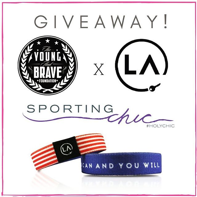 """HAPPY FRIDAY GIVEAWAY! In collaboration with @shoplacle and @theyoungandbrave, we are giving away 5 of these amazing Refocus Bands that say, """"You Can And You Will."""" Here's how to enter: 1. Follow @sportingchic, @shoplacle, and @theyoungandbrave.  2. Like and comment on this post. 3. Comment on our La Cle blog post by clicking the link in our bio. Deadline is Monday, July 10th! There will be 5 winners!"""