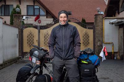 Gurkan Genc - Voyageur Turc. 7 ans de voyage sur tous les continents, les plus hauts cols et tous les déserts de la planète