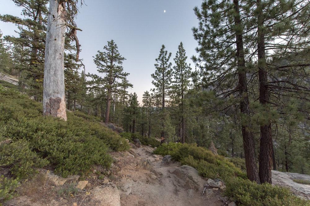 hike back from yostemite falls let the night begin.jpg