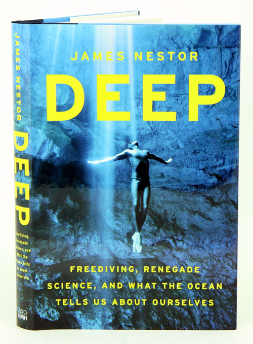 DEEP! - Last year I made it up to Saratoga to see James Nestor talk about his fascinating research on free-diving, which became his fantastic book, DEEP.