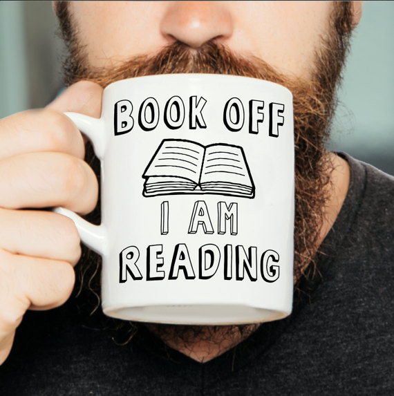 Book off I am reading mug  £9.00