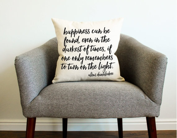 Dumbledore quote cushion £15.05